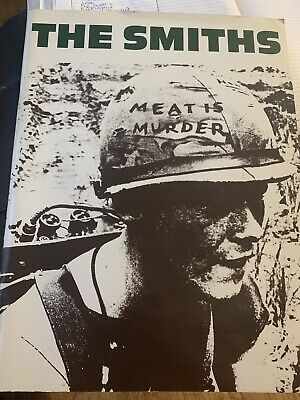 The Smiths Meat Is Murder (rare And Original Songbook) • 30£