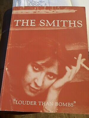 The Smiths Louder Than Bombs (rare And Original Songbook) • 30£