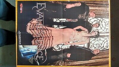 Evanescence / Blind Guardian A3 Magazine Poster • 9.99£