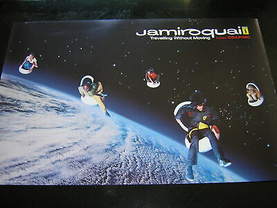 Original Jamiroquai Promotional Poster - Travelling Without Moving • 8.95£