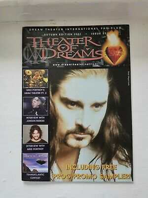 Dream Theater International Fan Club: Theater Of Dreams No.23 • 3.99£