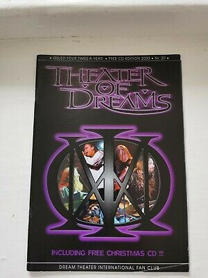 Dream Theater International Fan Club: Theater Of Dreams No.20 • 3.99£