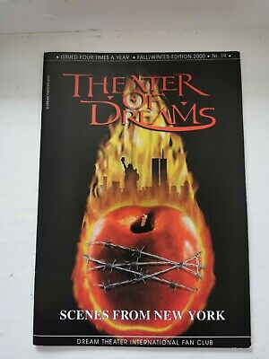 Dream Theater International Fan Club: Theater Of Dreams No.19 • 3.99£