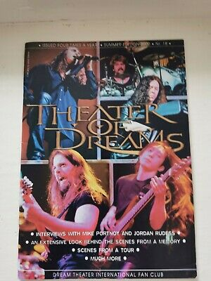 Dream Theater International Fan Club: Theater Of Dreams No.18 • 3.99£