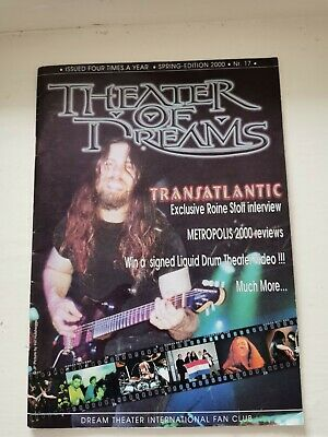 Dream Theater International Fan Club: Theater Of Dreams No.17 • 3.99£
