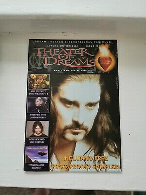 Dream Theater International Fan Club. Theater Of Dreams No.23 • 3.99£