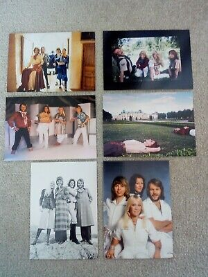 Abba Official Postcards • 12.99£