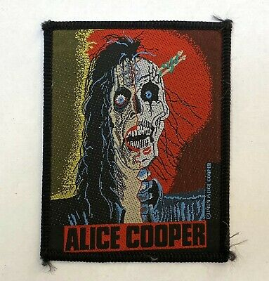 ALICE COOPER 1989 Patch  • 13.90£