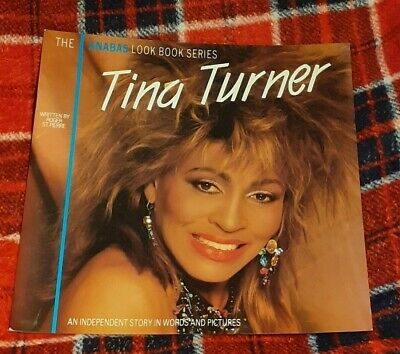 Tina Turner ANABAS 1985 Glossy Card Cover LP SIZED UK Magazine 12  X 12  !! • 18£