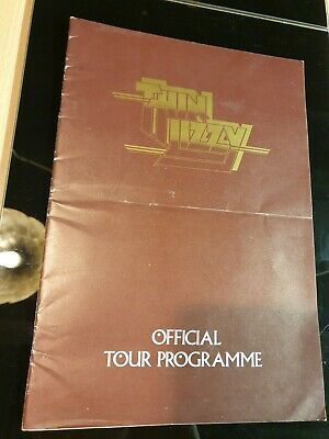 Thin Lizzy 1976 UK Official Tour Programme • 25£