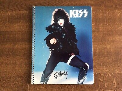 Kiss Paul Stanley Aucoin 1978 Vintage Note Book • 12£
