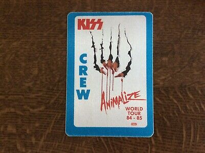 Kiss Gene Simmons Paul Stanley Back Stage Pass • 6£