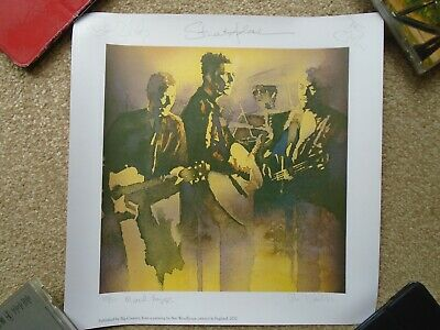 Big Country Artwork Print By Ben Woodhouse -Signed By All Band Members • 250£