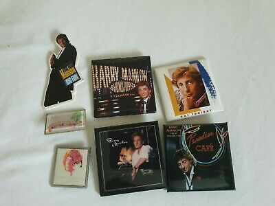 Assorted Barry Manilow Tour Badges Album Covers Pin Badges • 3£