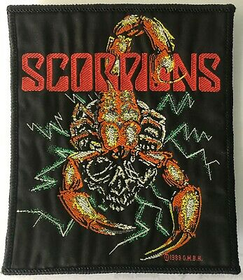 Scorpions - Woven Sew On Patch • 2.80£