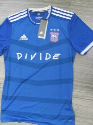 Ipswich Town Ed Sheeran Divide Limited Edition *SOLD OUT* Adidas Shirt Small • 150£