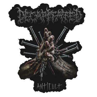 Official Licensed - Decapitated - Anticult Sew On Patch Death Metal • 5.75£