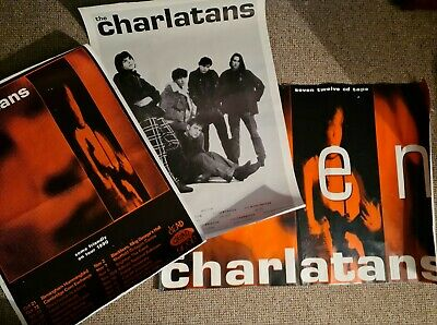 The Charlatans Very Rare Original Poster Collection  • 21£
