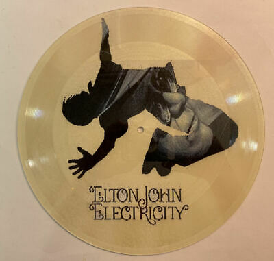 Elton John Electricity RARE 12-inch 1-sided Picture Disc • 56.29£