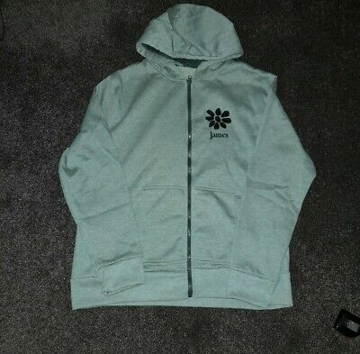 James The Band Tim Booth Zipped Hoody BNWT • 12£