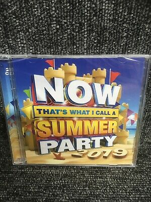 NOW THATS WHAT I CALL A SUMMER PARTY 2019 - VARIOUS - 2 X CD. New Sealed. • 3.45£