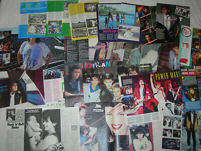 45 Pages Of Duran Duran Magazine Articles Clippings Cuttings Posters 1983-1985 • 59.99£