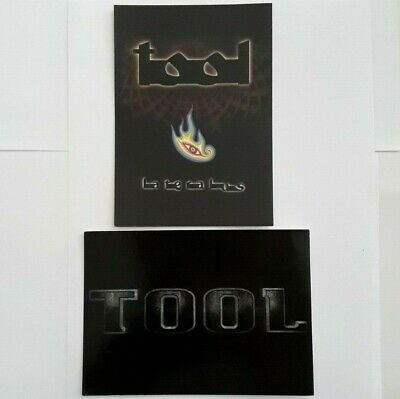 2 X TOOL - OFFICIAL POSTCARDS - 2002 Lateralus / Ice Logo (Tool Music Band) • 1.99£