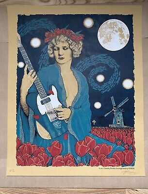 Timothy Pittides - Amsterdam Print Signed And Numbered Pearl Jam Eddie Vedder • 64.95£
