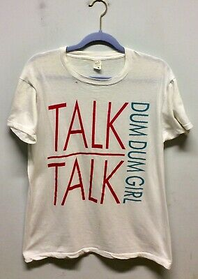 Original Talk Talk Dum Dum Girl T-shirt 1984 • 150£