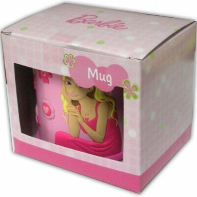 BARBIE Kids Mug NEW/BOXED • 3.99£