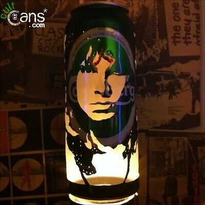 Jim Morrison Beer Can Lantern! The Doors Pop Art Candle Lamp - Unique Gift • 13.99£