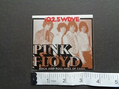 PINK FLOYD,Rare Original WDVE Hall Of Fame Commemorative  Backstage Pass • 7.47£