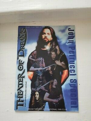 Dream Theater International Fan Club: Theater Of Dreams Issue No.21 • 2.99£