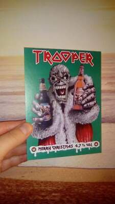 Iron Maiden Trooper Beer Clip Christmas 2016 • 5.99£