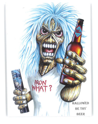 Iron Maiden Trooper Beer Clip Hallowed • 5.99£