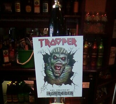 Iron Maiden Trooper Beer Clip Souls II @ 4.8% • 5.99£