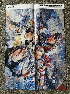 Nme Double-sided A2 Poster - Stones Roses & Deborah Harry  Vgc • 4.99£