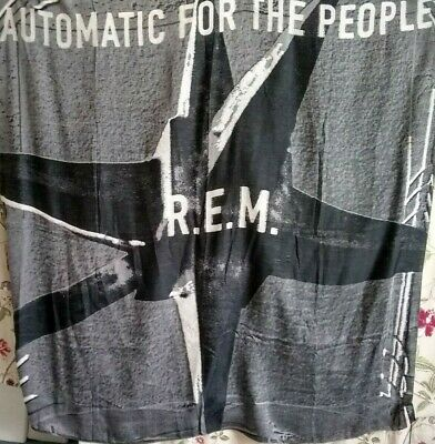 BNWT PAUL SMITH R.E.M. 'AUTOMATIC FOR THE PEOPLE' 25th ANNIVERSARY LARGE SCARF  • 49.99£