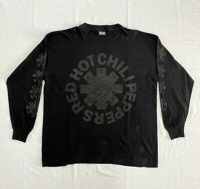 Vintage RED HOT CHILI PEPPERS Long Sleeve T-shirt Rare • 319.90£