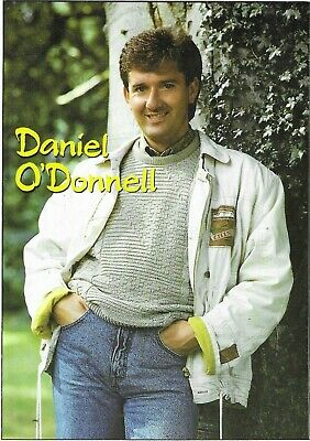 Daniel O'Donnell - Signed With Dedicated Note - Postcard • 5.99£