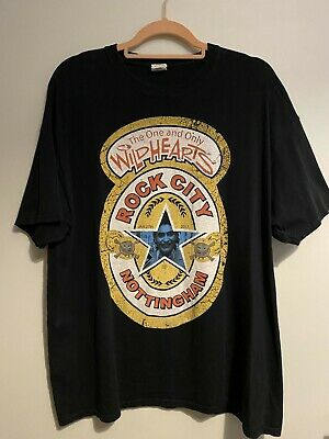 Ginger Wildheart, The Wildhearts, T-Shirt XL Newcastle Brown Ale, Rock City • 6.50£