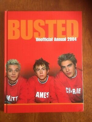 Busted - Unofficial Annual 2004 • 7£
