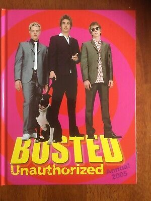 Busted - Unauthorized Annual 2005 • 8£