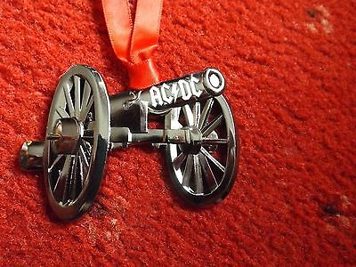 Acdc Rare  Ftatr Metal Cannon Ornament Angus Malcolm Young Brian Johns Xmas Gift • 25£