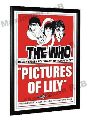 The Who Pictures Of Lily Promo Poster 1967 • 5.95£