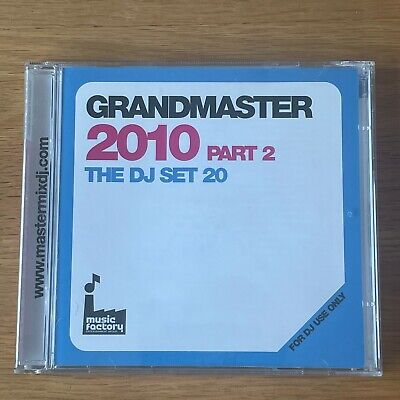 Grandmaster 2010 Part 2 2CD. DJ Megamix. Olly Murs, Pixie Lott, Katy Perry, Taio • 4.99£