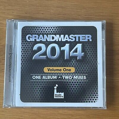 Grandmaster 2014 Vol 1 2CD. DJ Megamix. Vamps, Pixie Lott, Pitbull, Clean Bandit • 4.99£