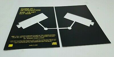 Hard-Fi In Operation DVD Promo Cut Out Post Cards X 2 RARE • 2.99£