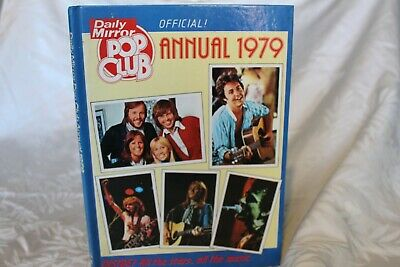 Daily Mirror Pop Club Annual 1979 • 5£
