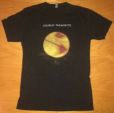 Coldplay Parachutes T Shirt Size S A Head Full Of Dreams World Tour 2016 • 17.67£